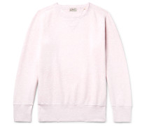 Bay Meadows Fleece-back Cotton-jersey Sweatshirt