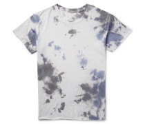Tie-dyed Cashmere And Silk-blend T-shirt