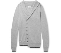 Asymmetric Cashmere And Silk-blend Cardigan