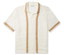 Elder Embroidered Linen Shirt