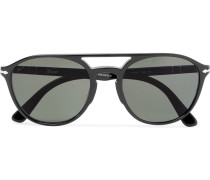 Aviator-style Acetate Sunglasses