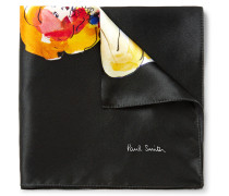 Printed Silk-satin Pocket Square