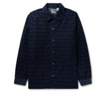 Flocked Cotton Jacket