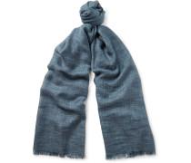 Brina Mélange Cashmere And Silk-blend Scarf