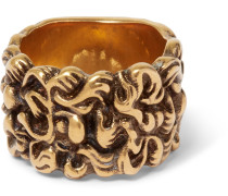 Burnished Gold-tone Ring
