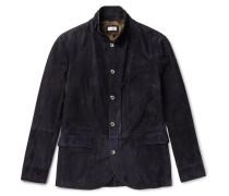 Slim-fit Suede Jacket