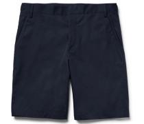 Slim-fit Cotton-twill Bermuda Shorts