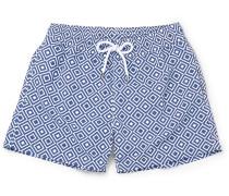 Angra Short-length Printed Swim Shorts