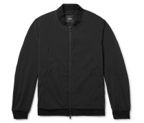 Slim-fit Stretch-shell Bomber Jacket