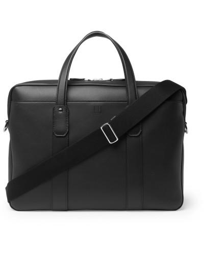 Hampstead Leather Briefcase - Black
