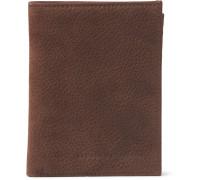 Full-grain Nubuck Billfold Wallet