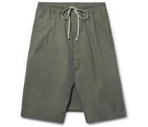 Pod Coated-cotton Shorts