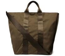 Adventurer Webbing-trimmed Canvas Tote Bag