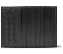 Intrecciato Leather Cardholder
