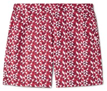 Tropez 8 Slim-Fit Mid-Length Printed Swim Shorts