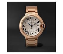 Ballon Bleu de Cartier Automatic 42mm 18-Karat Pink Gold Watch, Ref. No. CRWGBB0016