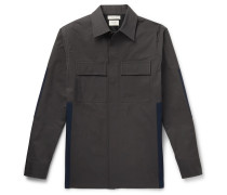 Panelled Cotton Overshirt