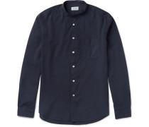 Premium Grandad-collar Cotton Shirt