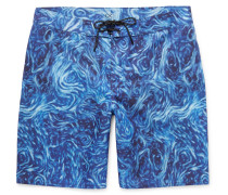 Nomadic Mid-length Printed Swim Shorts
