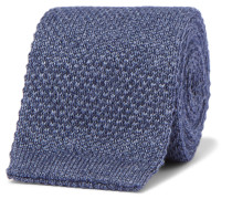 6cm Cashmere And Silk-blend Knitted Tie
