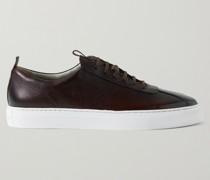Full-Grain Leather Sneakers