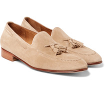 Chessington Suede Tasselled Loafers