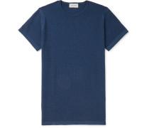 2 Singular Slim-Fit Honeycomb-Knit Virgin Wool T-Shirt