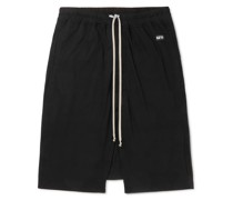 Pods Cotton-Jersey Drawstring Shorts