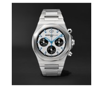 Laureato Chronograph Automatic 42mm Stainless Steel Watch, Ref. No. 81020-11-131-11A