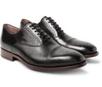 Berty Polished-leather Oxford Brogues