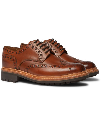 Archie Leather Wingtip Brogues