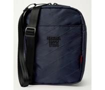 Shell-Jacquard Messenger Bag