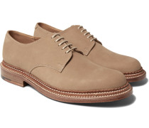 Curt Triple-welted Nubuck Derby Shoes