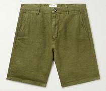 Crown Linen Shorts