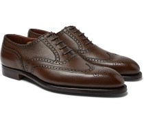 Reuben Full-grain Leather Wingtip Brogues