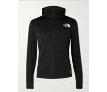 Flight Series Elevation Stretch-Jersey Hooded Half-Zip Jacket