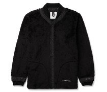 Shell-Trimmed Polartec Fleece Jacket