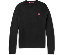 Slim-fit Wool And Cashmere-blend Sweater