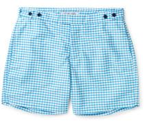 Noronha Mid-length Printed Swim Shorts