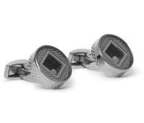 Gunmetal Diamond Cufflinks