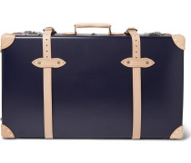 """+ Globe-trotter 30"""" Pinstripe-lined Wheeled Suitcase"""