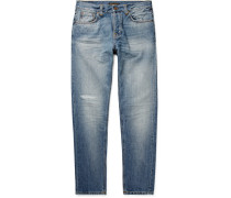 Steady Eddie II Tapered Distressed Organic Denim Jeans