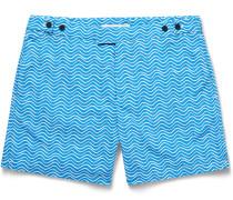 Ondas Printed Mid-length Swim Shorts