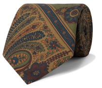 8.5cm Paisley-Print Silk-Twill Tie
