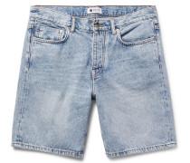 Washed-denim Shorts