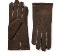 York Shearling Gloves