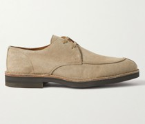 Andrew Split-Toe Suede Derby Shoes