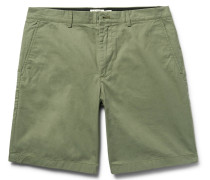 Maddox Cotton-twill Shorts