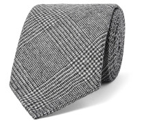 8cm Prince Of Wales Checked Wool And Cashmere-blend Tie