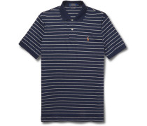 Striped Pima Cotton-jersey Polo Shirt